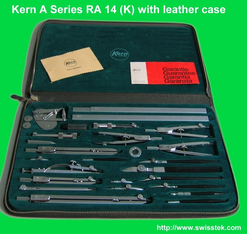 Kern Premium Drafting Set available from Swisstek